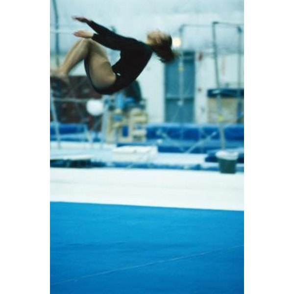Back tucks are a form of back flips.