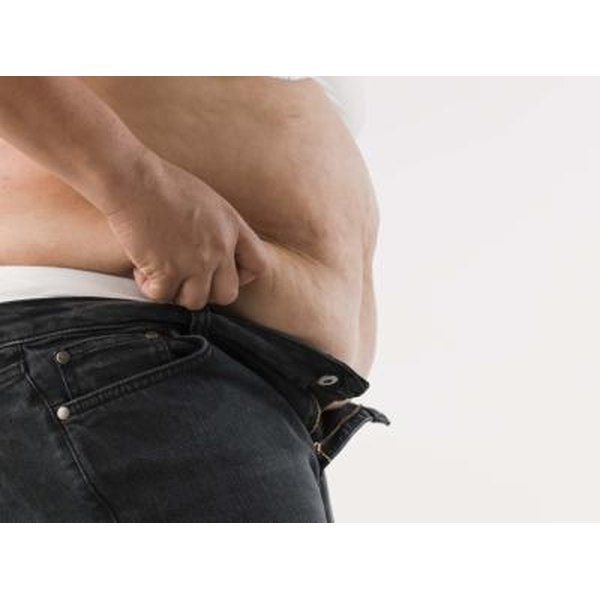 Visceral fat can lead to serious illness.