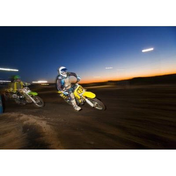 Motocross racers have neither a uniform lifestyle nor a uniform pay scale.