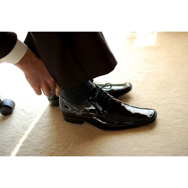 You can easily shine your own shoes at home
