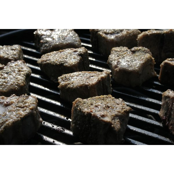 Steaks can have a great flavor when cooked on a grill.