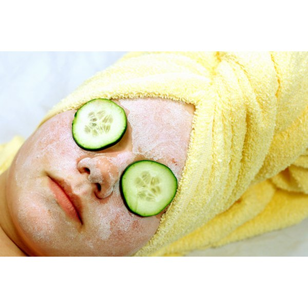 Making your own facial mask will save you money.