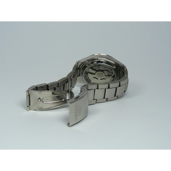 Remove links in a twist-o-flex watchband to better fit your wrist.