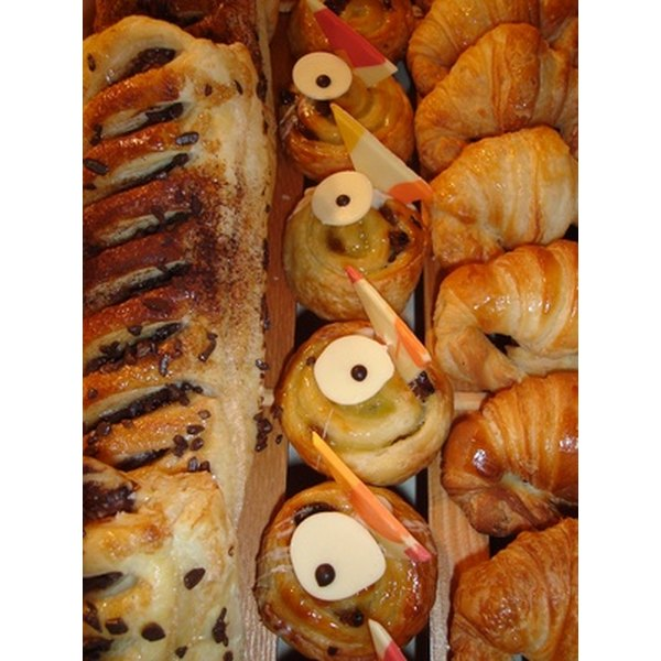 The French are famous for their elaborate array of fine pastries.
