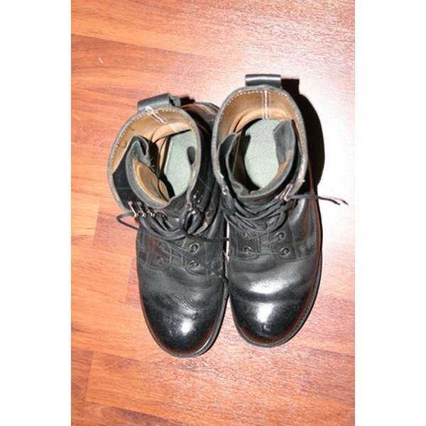Update your boots with an effective shine