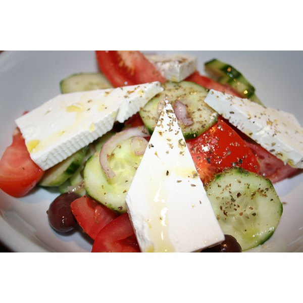 Although Greek salad is thought to represent Greek cuisine, tomatoes were not actually imported into the region until the 1800s.