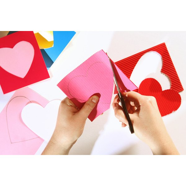 Valentine's crafts are an easy way to teach God's love.