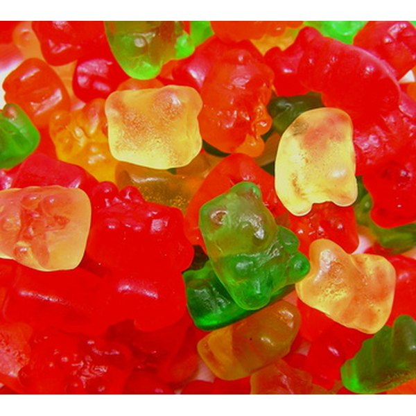 Gummi bear soft candies are best avoided by those with citric acid sensitivities.