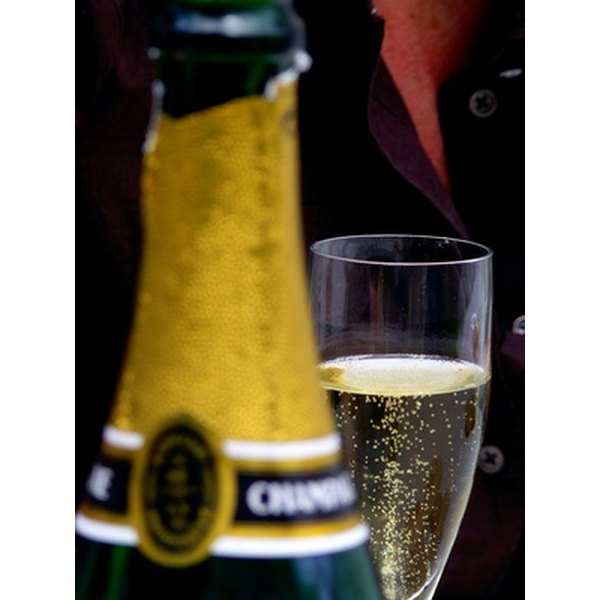 Sparkling wine adds a festive touch to any occasion.
