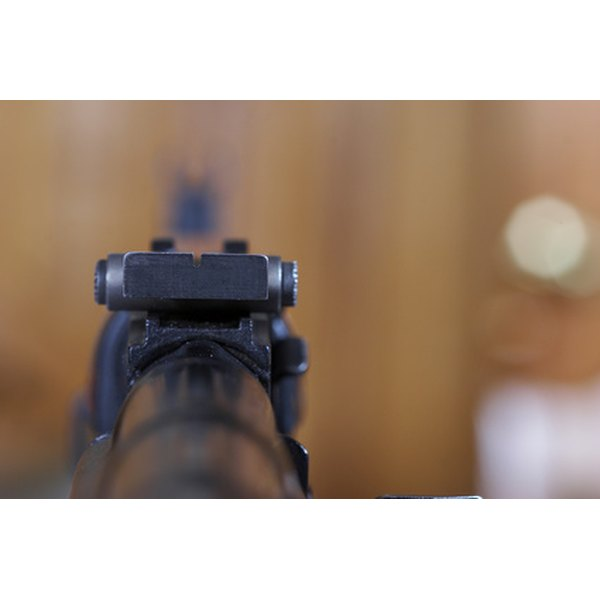 Red dot sights improve shooting accuracy.