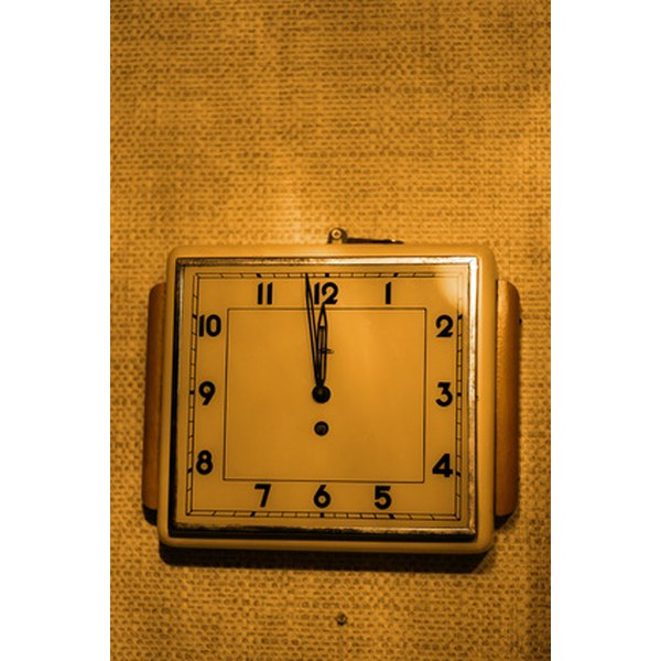 Finding the date of your clock can be done by using various techniques.