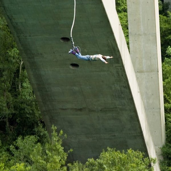 Reach new heights by daring to bungee jump from a bridge in Pennsylvania.
