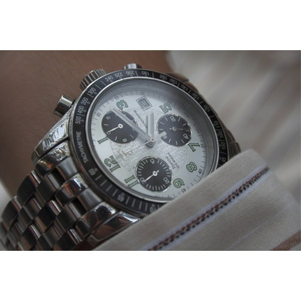 Watch with Tachymeter Bezel