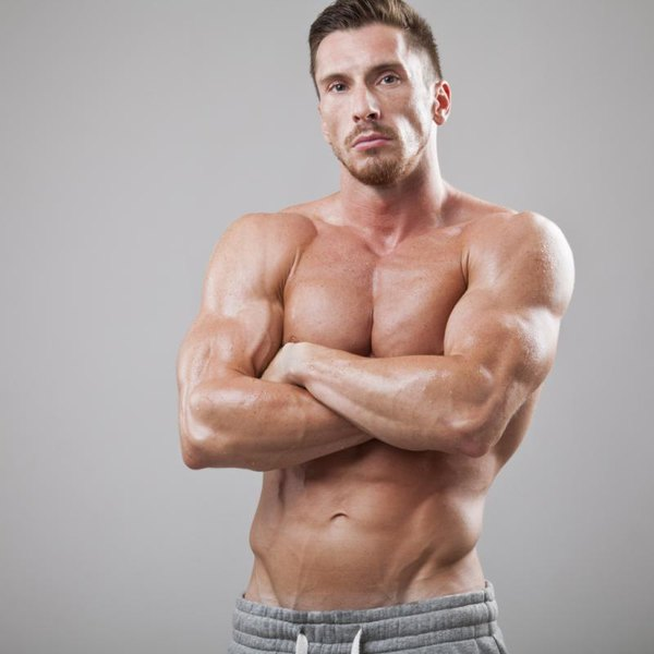 Men with V-shaped obliques like to show them off.