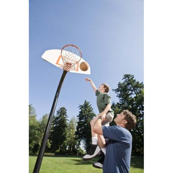 Install your own basketball hoop to use any time.