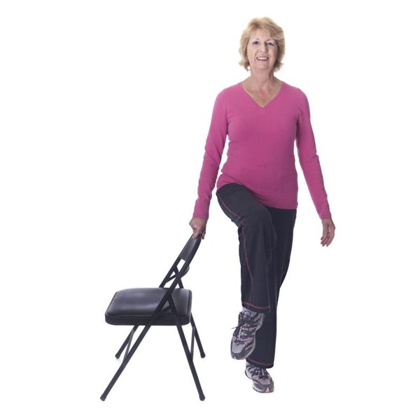 Balance exercises can help prevent falls.