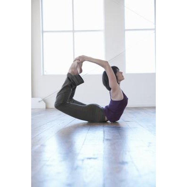 Bikram yoga poses such as Bow pose massage the lymph glands in the neck and endocrine glands.