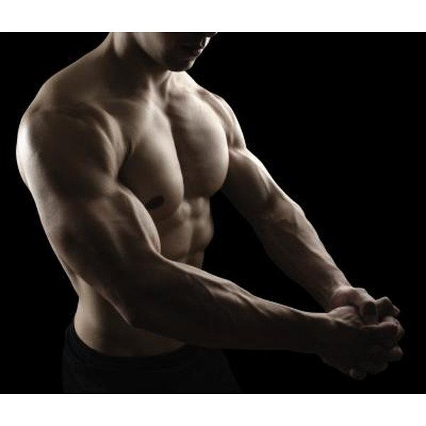 The Power Twister primarily targets your pectoralis major and biceps brachii muscles.