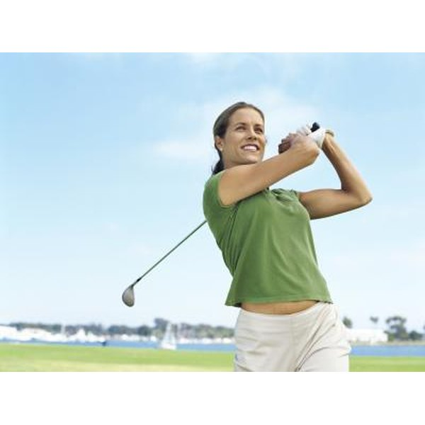 Creative themes can encourage women to break out the golf clubs.