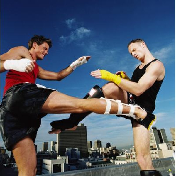 Kickboxing is a contact sport.
