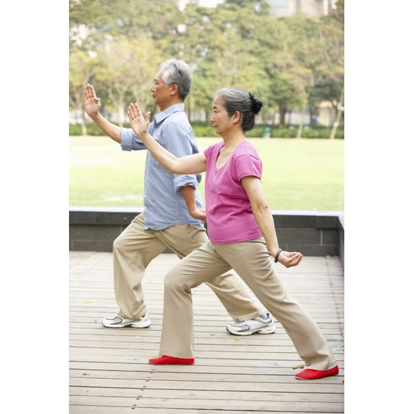 Tai chi offers a low-impact form of exercise.