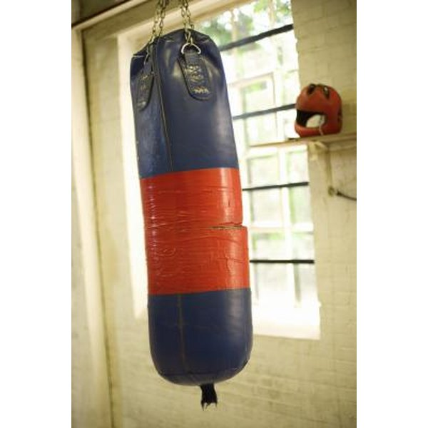 Heavy bags range in size from 60 lbs. to 100 plus lbs.