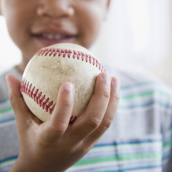 The mechanics of throwing a baseball is usually passed down through the generations.
