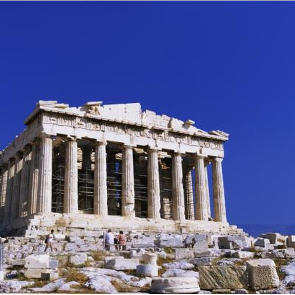 Materials used in ancient greek architecture synonym for Architecture synonyme