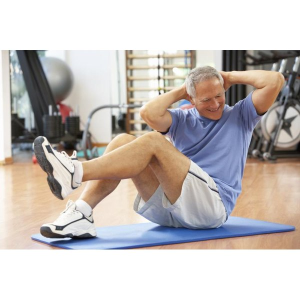 Older adults benefit from abdominal work.