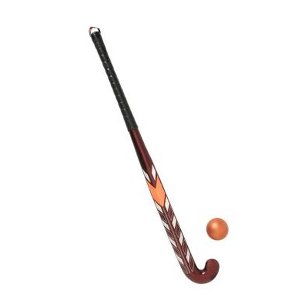 The stick is the most important piece of equipment in field hockey.
