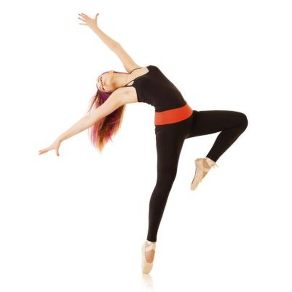 Flexibility is a must for any dancer.