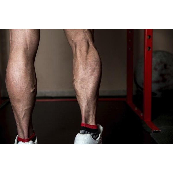 Thrust Ups work the outer thighs and calves.