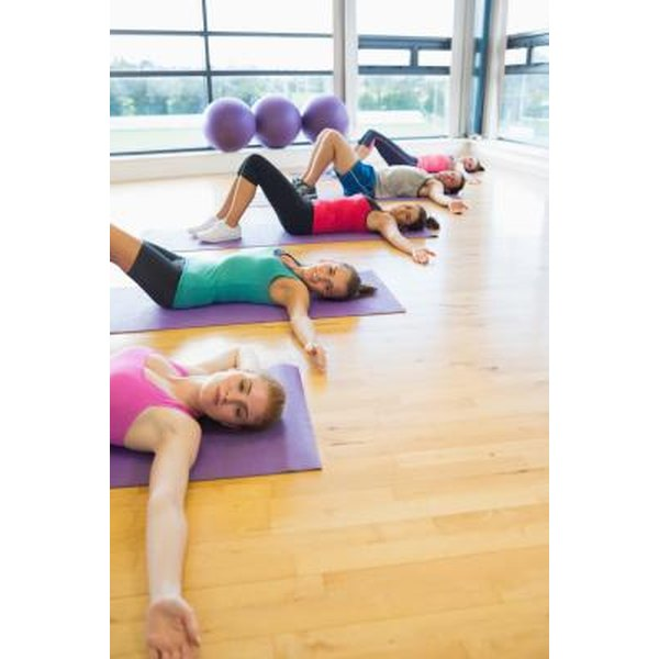 Pilates mat work for your hips and thighs can ease lower back pain.