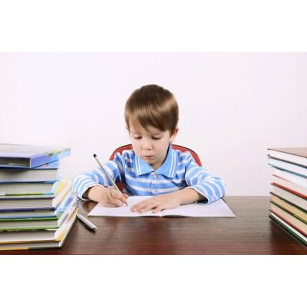 how to write a report for kids