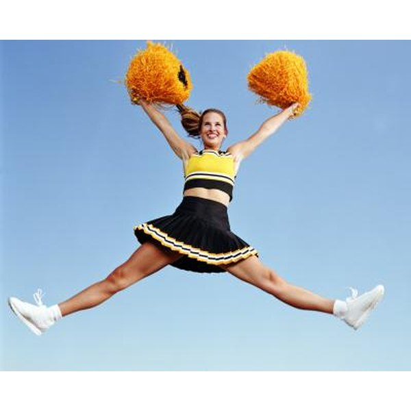A sponsor can help you purchase cheerleading uniforms.
