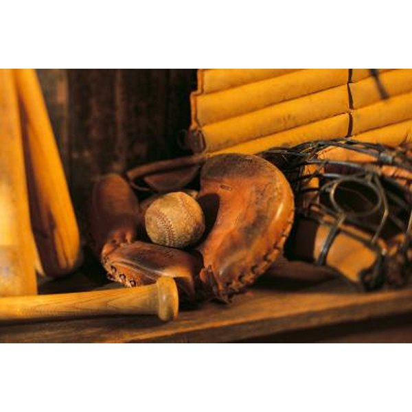 Revive that old leather baseball glove.