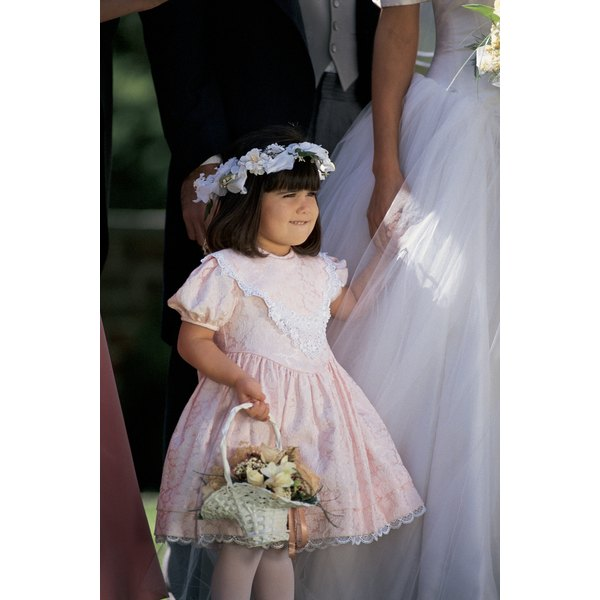 Adorn your flower girl with a lovely halo headpiece.