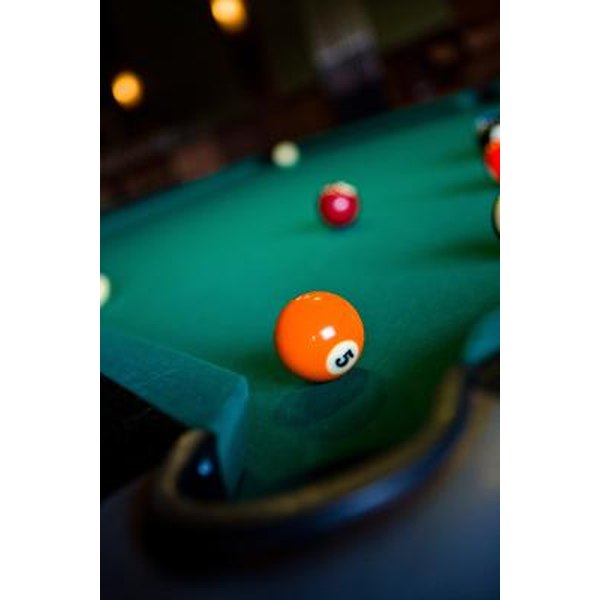Players Use Pool Table Dots As A Central Tool In Billiards.