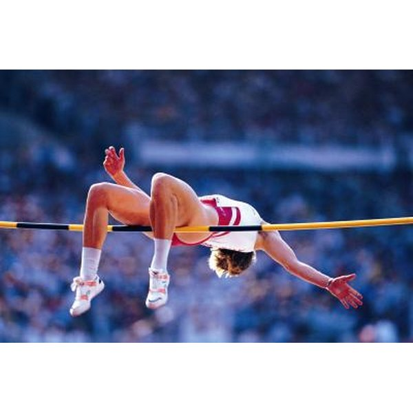 The Fosbury Flop technique can be used in the high jump.