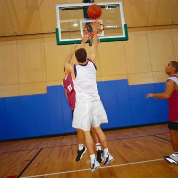 Even shorter players can become dominant rebounders by boxing out.