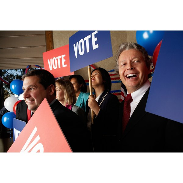 All political campaigns need volunteers to help get people to vote.