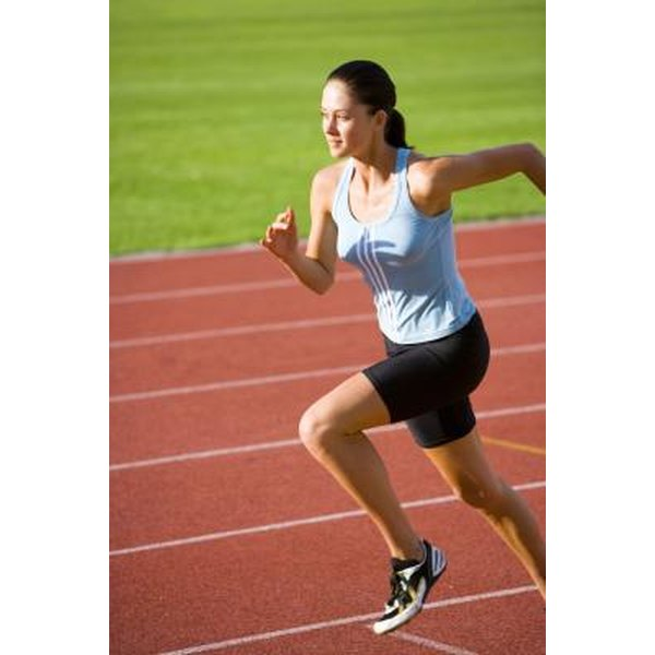 Improve your mile time by running sprints at different intervals.