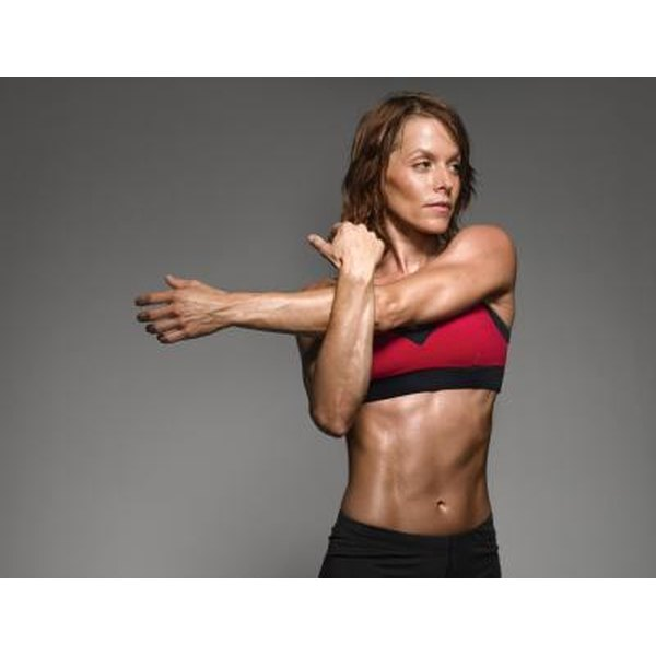 Intense training is necessary for most women to build strong, toned bodies.