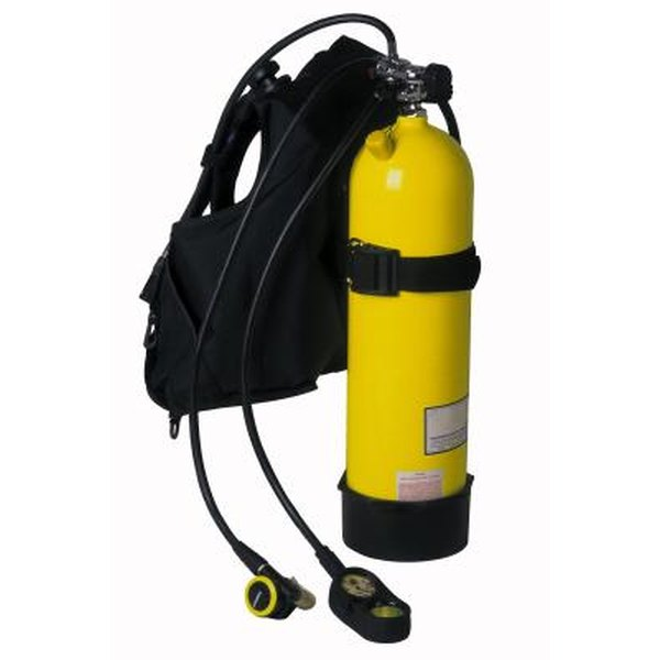 Oxygen tanks can be protected in scuba gear.