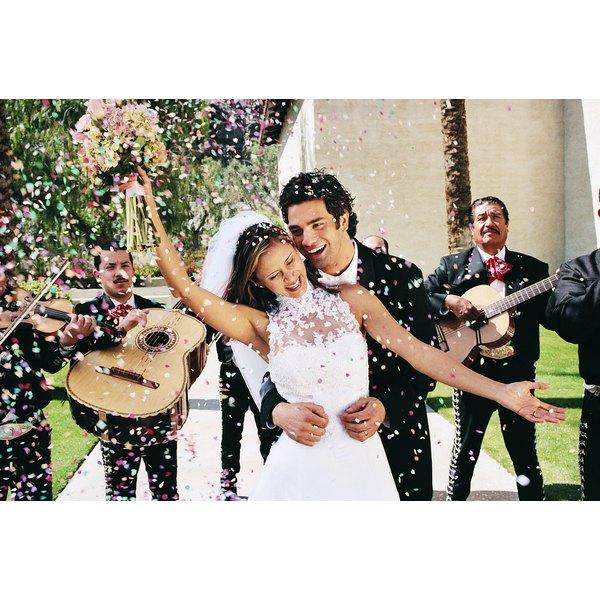Build a dancefloor for you outdoor wedding.
