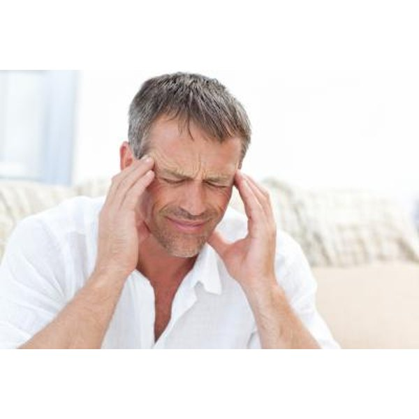A migraine can occur due to an overproduction of histamine.