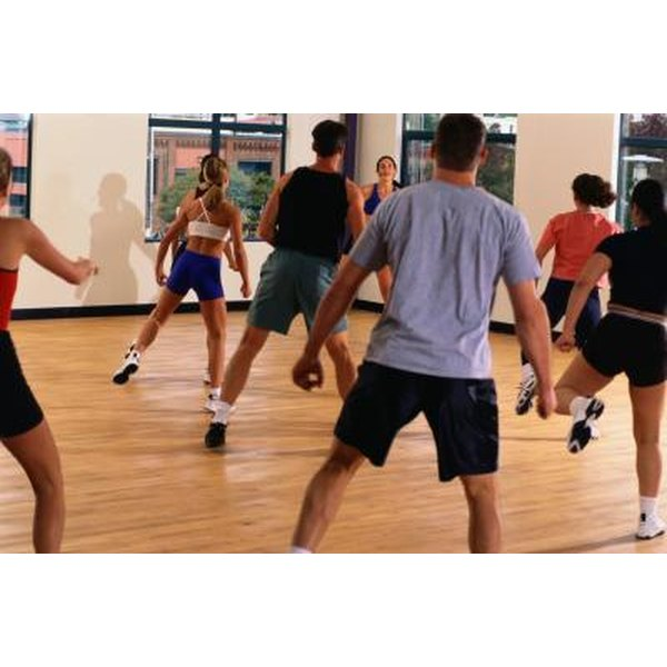 The beats in aerobics are felt in 32-count phrases.