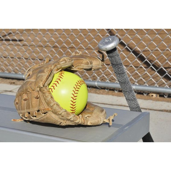 The outer covering of higher-quality softballs is made of natural leather.