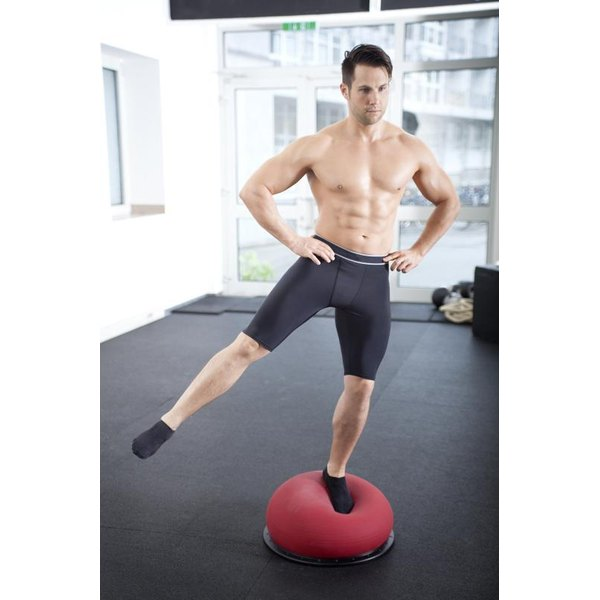 The Body Dome challenges your balance.
