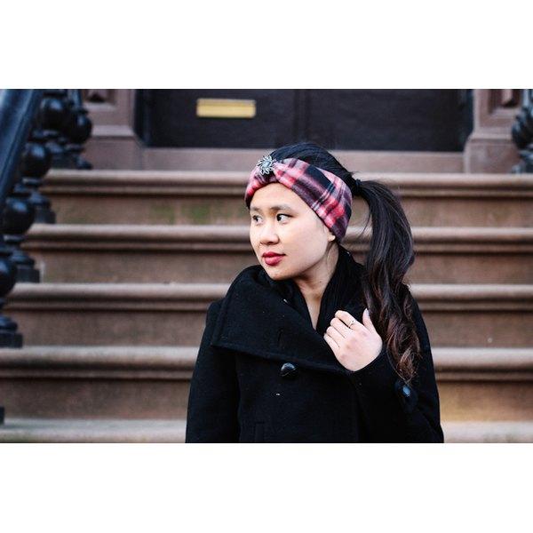 Stay Warm with a DIY Jeweled Fleece Head Wrap  e7fc0a5de68
